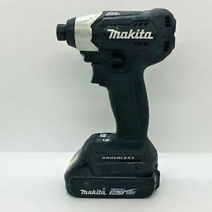 18v brushless makita impact driver and battery